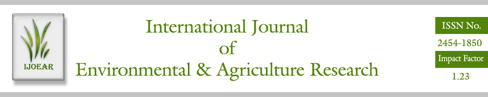 AD Publications had published its Volume-2, Issue-10 October 2016 Issue with International journal of Environmental & Agriculture Research