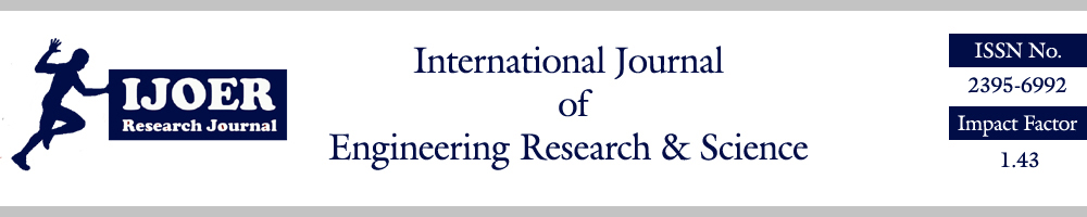 AD Publications is a registered organization had published its Volume-2, Issue-10, October 2016 with International Journal of Engineering Research & Science